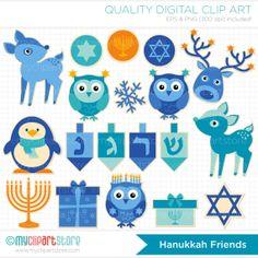 13 Best Clipart: December: Hanukkah images.