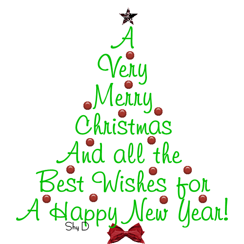 Merry christmas and happy new year clip art satztk.