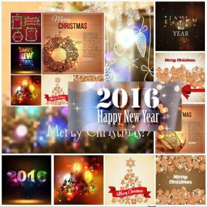 Christmas and new year clipart free download.