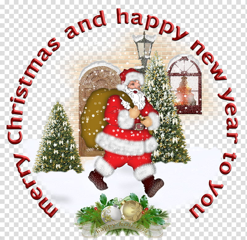 Christmas s, merry Christmas and Happy New year to you text.