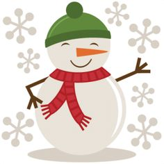 Winter And Christmas Clipart.