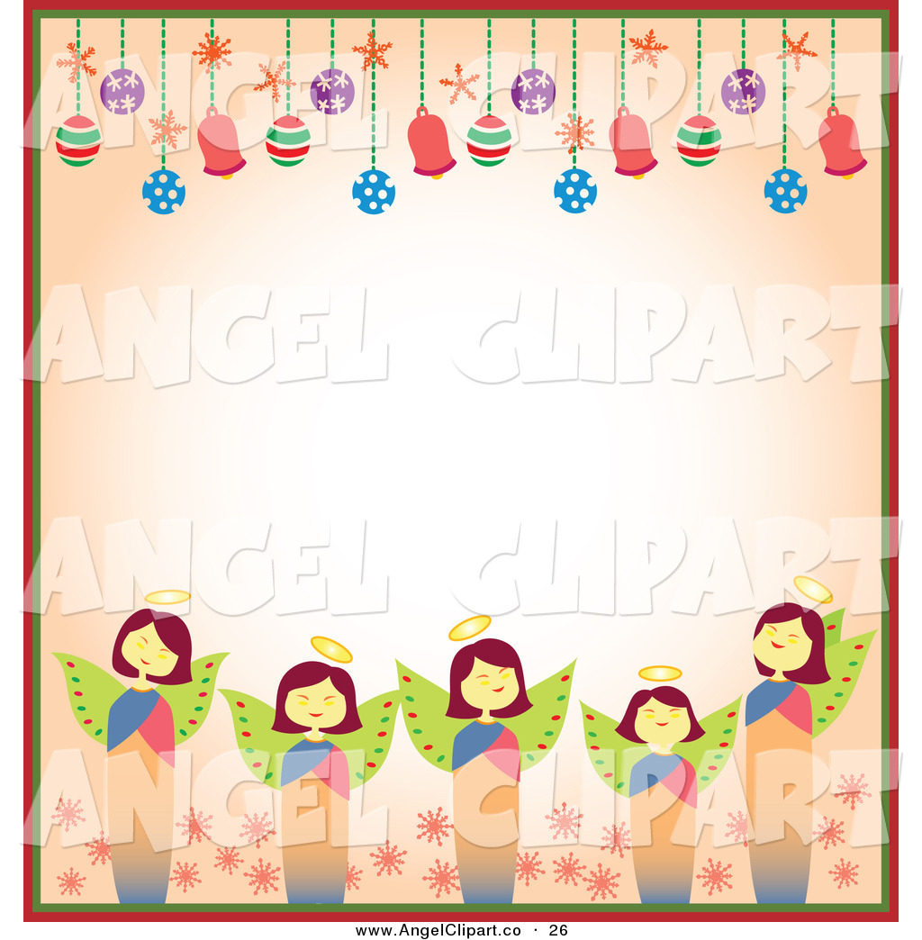 Images Of Christmas Angels Clipart.