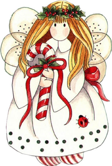 Christmas angels clipart images.