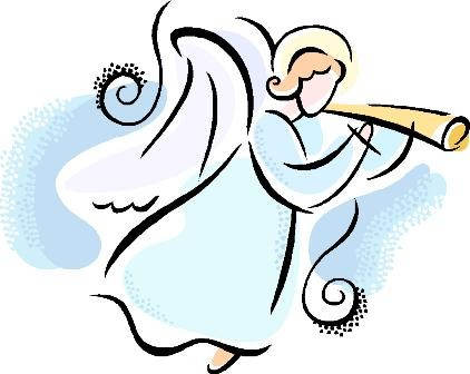 Simple Christmas Angel Clipart s Pictures.