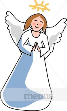Christmas Angel Clipart.