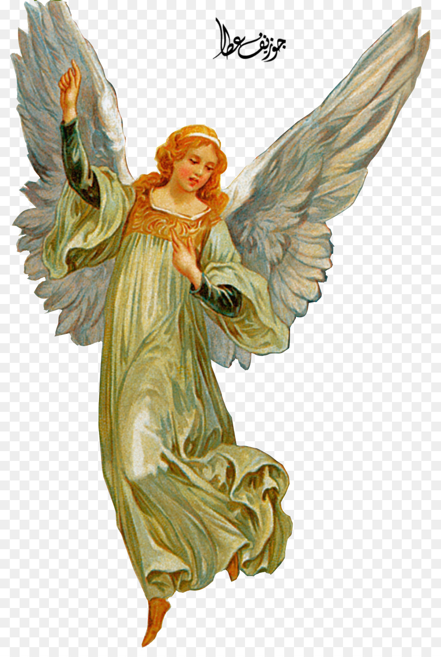 Christmas Angel png download.