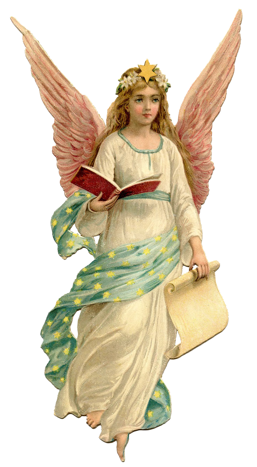 Christmas Angel PNG Picture.