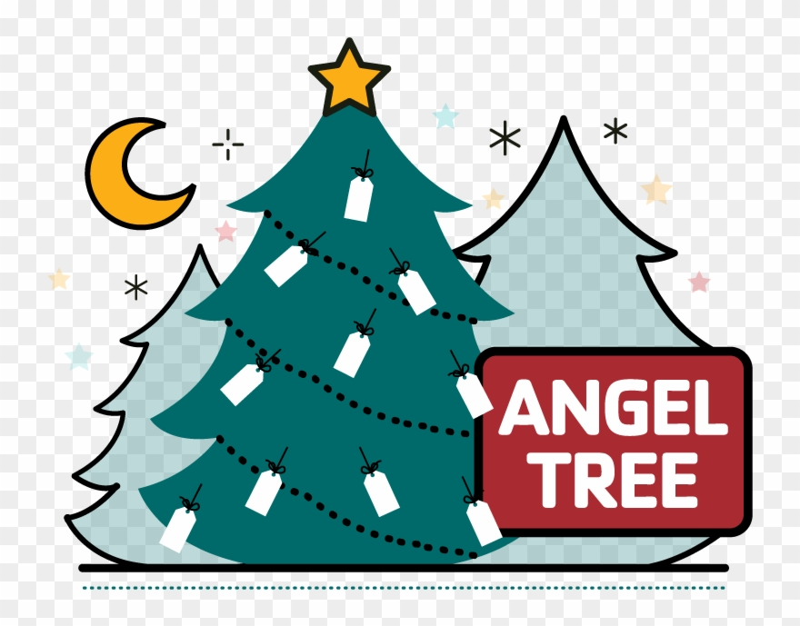 Angel Tree Clipart (#145243).