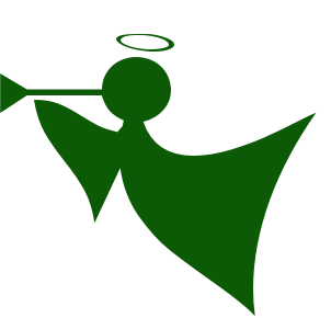 Free Christmas Angel Clipart.