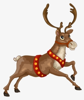 Free Christmas Animal Clip Art with No Background.