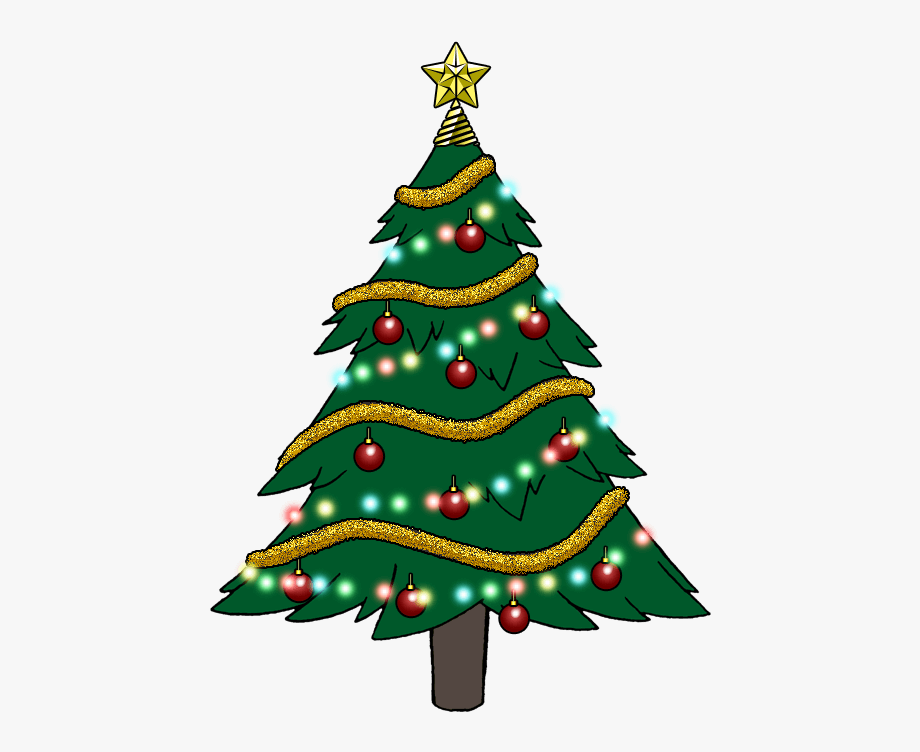 Christmas Tree Images Clip Art.