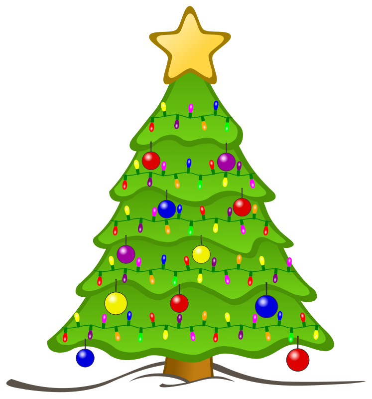 Free Clipart: Animated Christmas Tree.