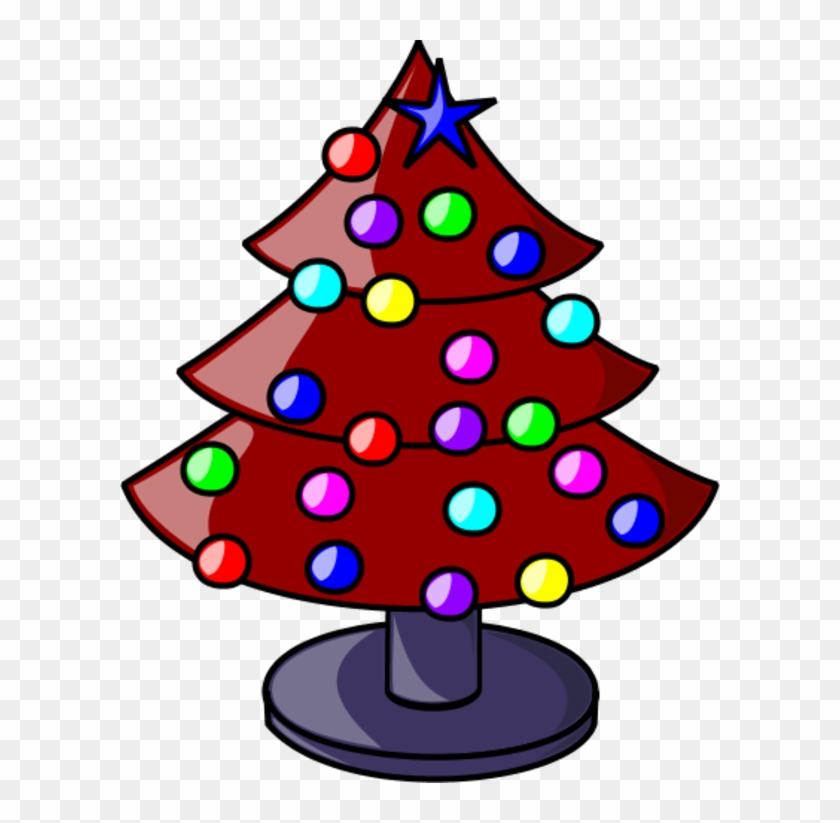 Christmas Tree Vector Clip Art Clipart.