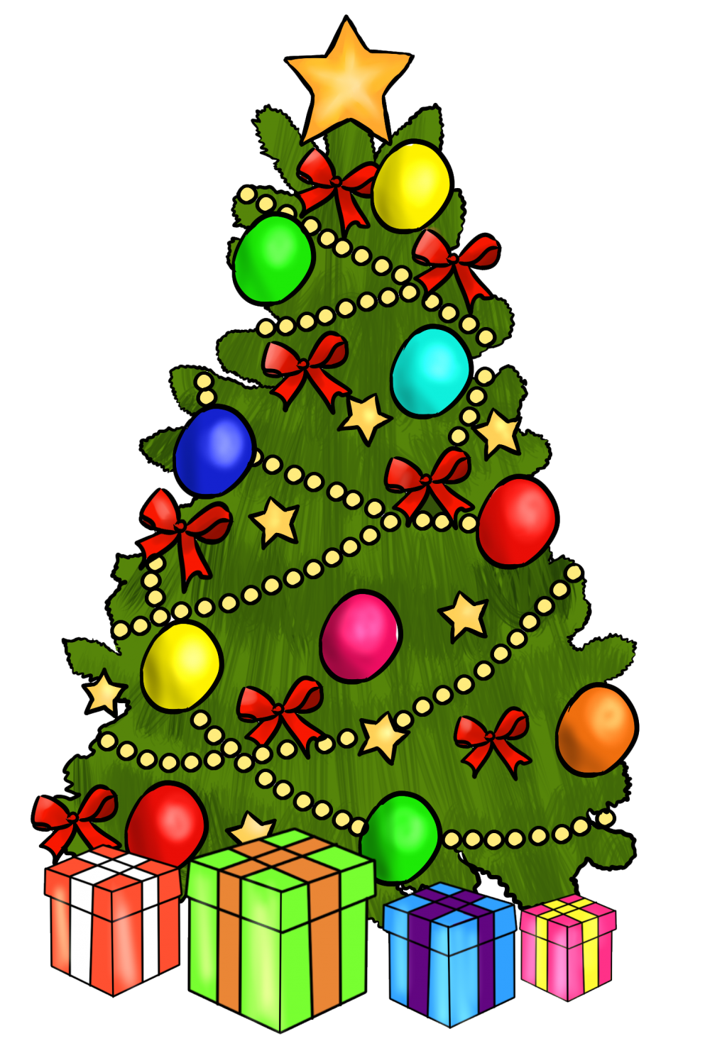 Animated Holiday Clipart.