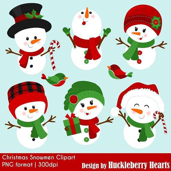 Snowmen Clipart, Snowman Clipart, Snowman Clip Art.