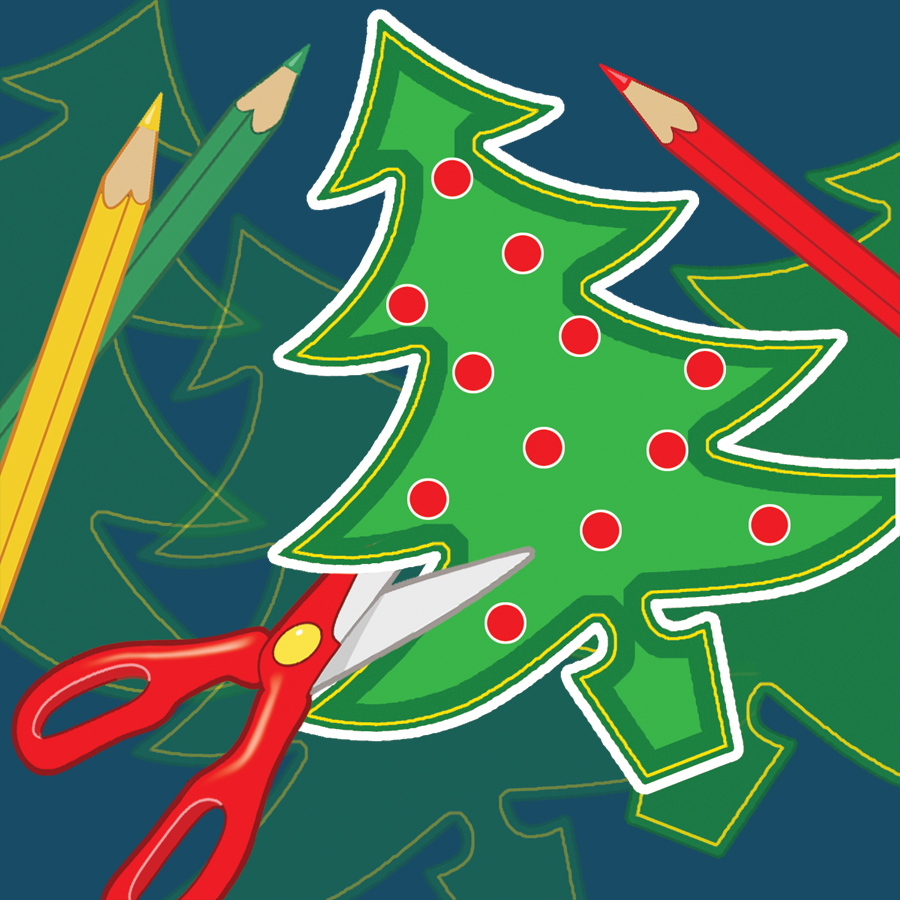 Christmas Arts And Crafts Clipart.