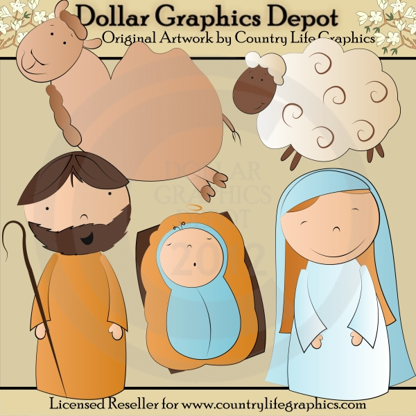 Christmas Art & Craft Day Clipart.