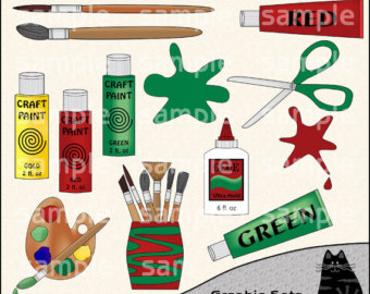 Christmas Arts And Crafts Clipart