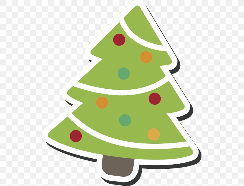 Christmas Tree Party Gift Clip Art, PNG, 535x625px.