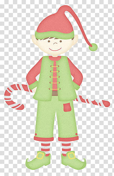 Christmas Stuff, elf artwork transparent background PNG clipart.