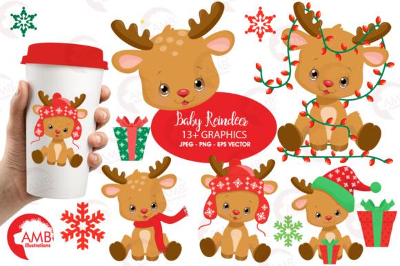 Baby Reindeer Clipart.