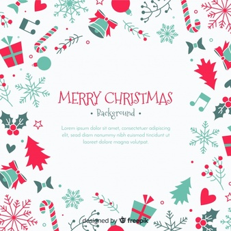 Christmas Elements Vectors, Photos and PSD files.
