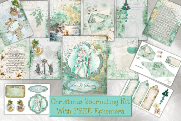 Christmas Backgrounds and Clipart.