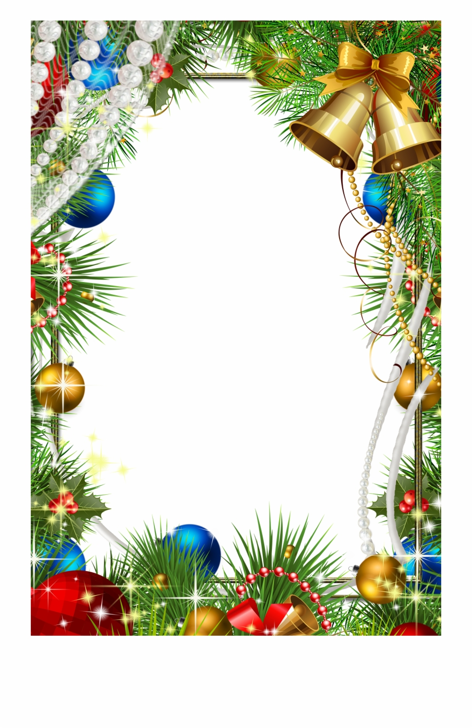 Free Christmas Frames Png Images With Transpa Background Free PNG.