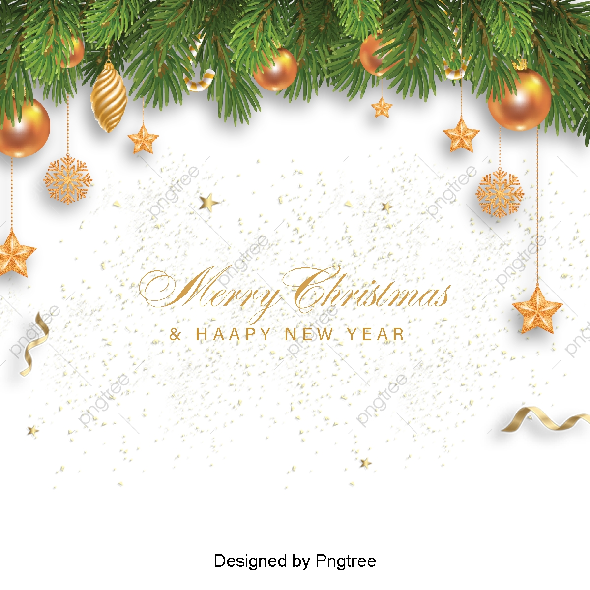 The Simple Color Background And White Christmas Card, Sns Background.