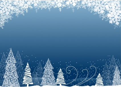 Christmas Tree Background Vector shiny vector free download.