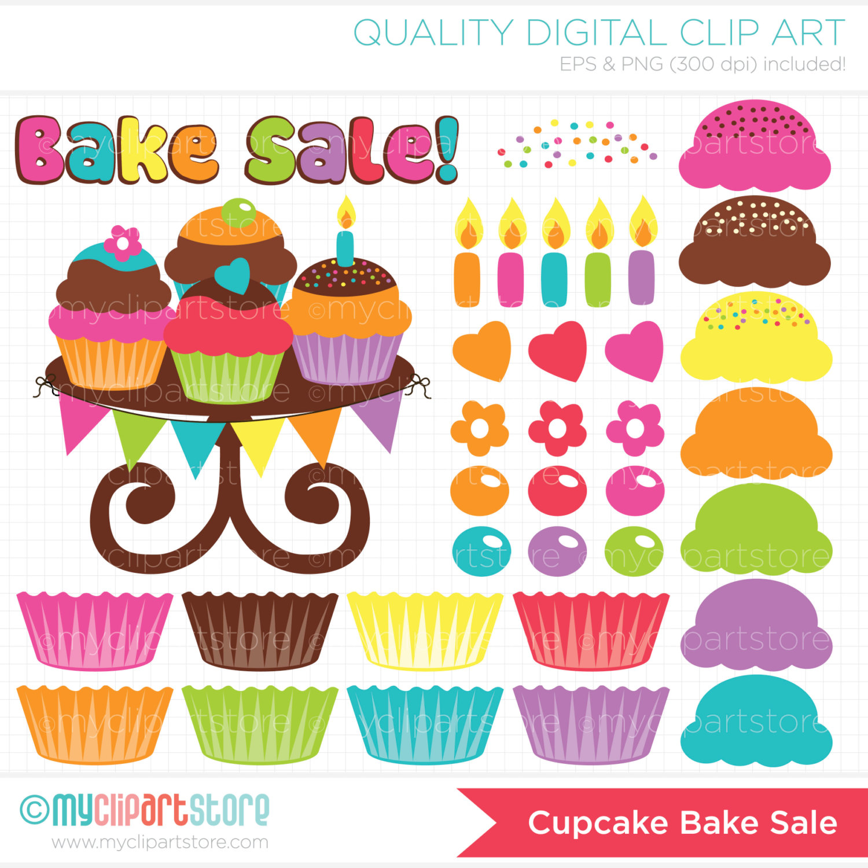 84+ Bake Sale Clipart.