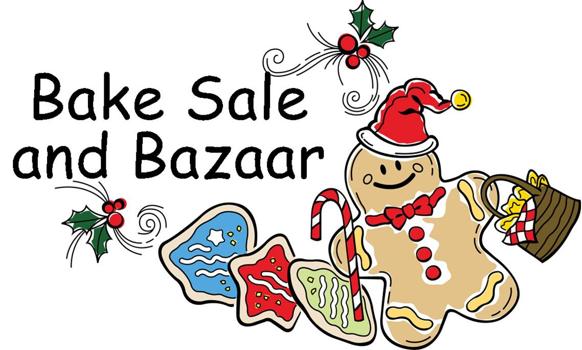 Holiday bake sale clip art.