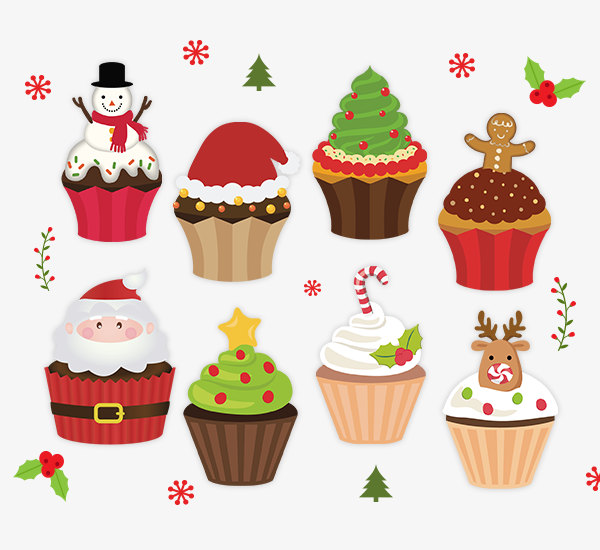 Holiday clipart baked goods, Holiday baked goods Transparent.