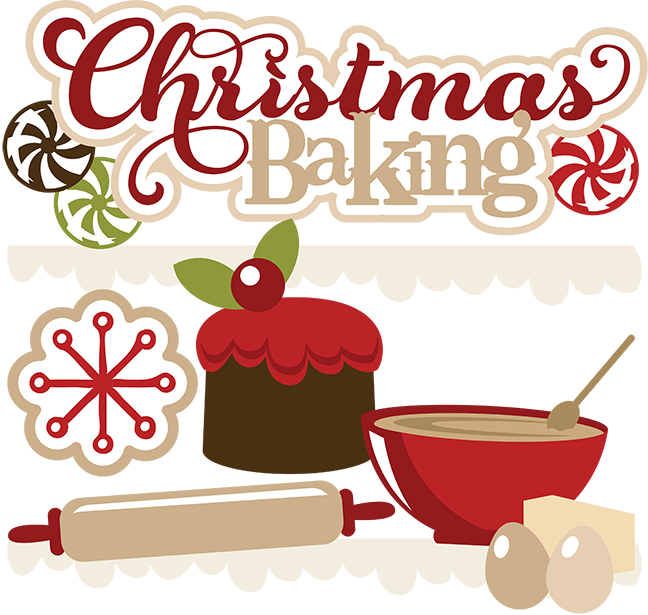 Christmas baking clipart #11