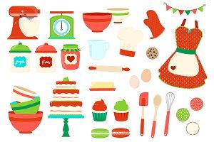 Baking clip art Photos, Graphics, Fonts, Themes, Templates.