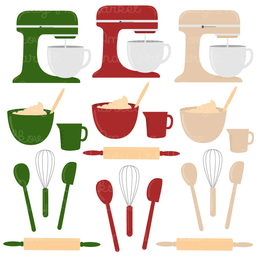 Baking Clipart in Christmas.