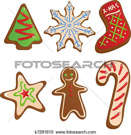 Christmas baking clipart #6