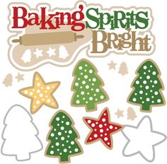 Christmas baking clipart #17