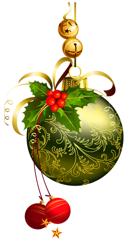 Christmas balls clipart images.