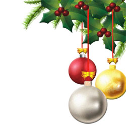 Christmas decorations clipart #2