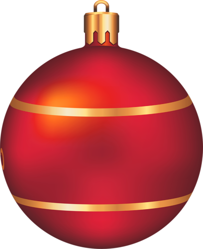 Christmas ball clip art.
