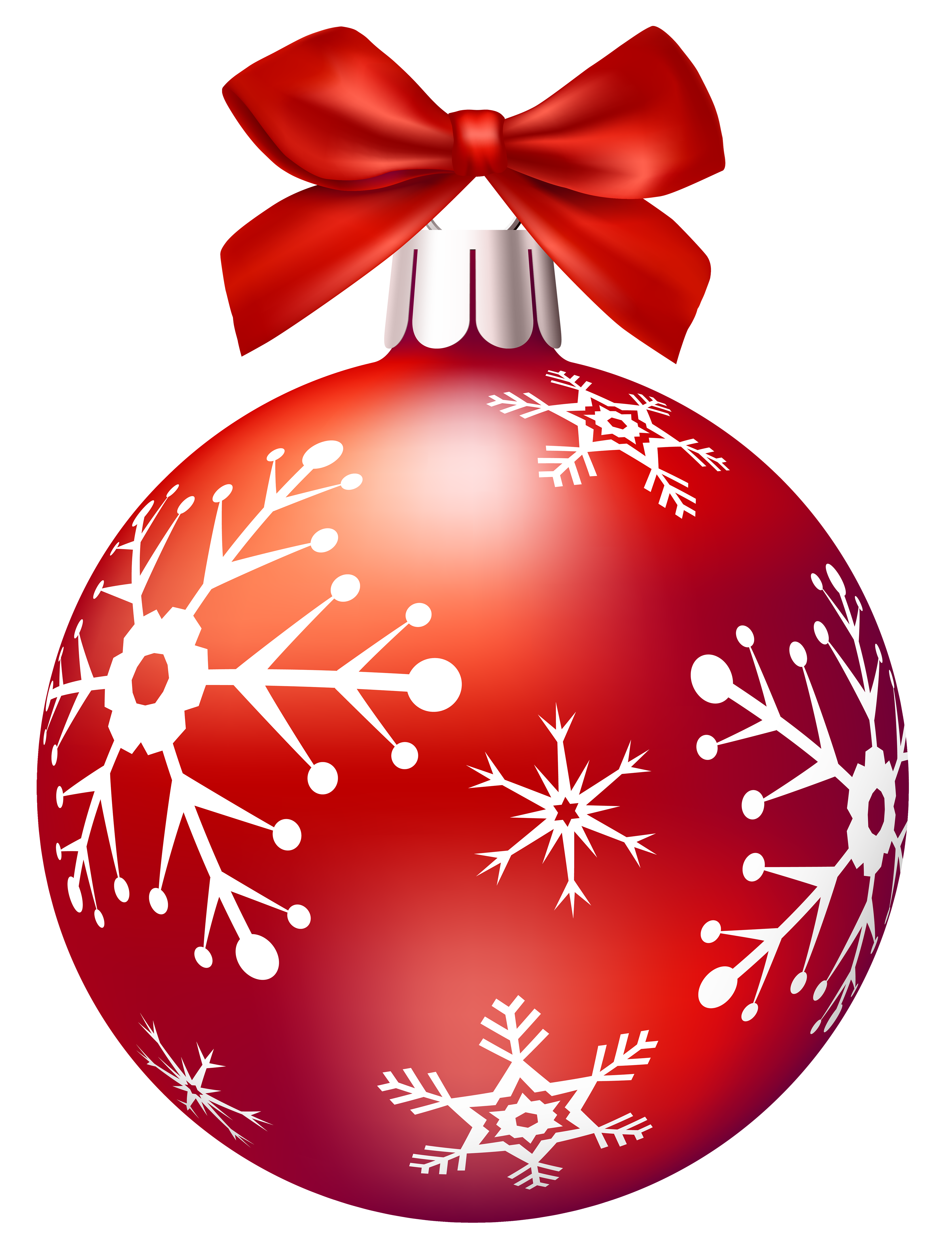 Red Christmas Balls PNG Clip Art.