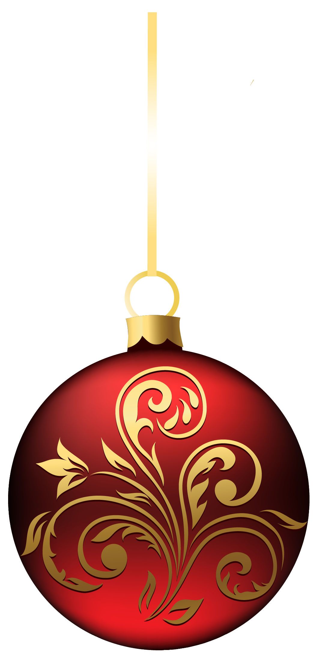 Large Transparent BlueRed Christmas Ball Ornament PNG Clipart.