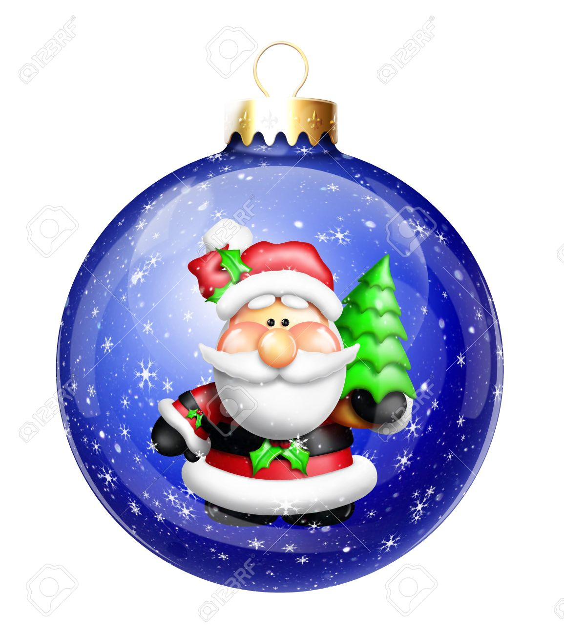 Christmas ball ornament clipart.