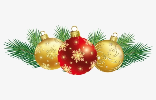 Free Christmas Decorations Clip Art with No Background.
