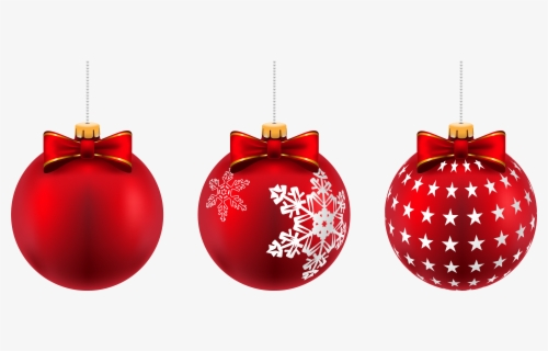 Free Christmas Balls Clip Art with No Background.