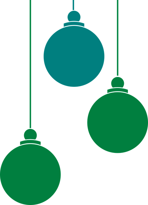 Christmas Ornaments Clipart Christmas Balls Vector Png.