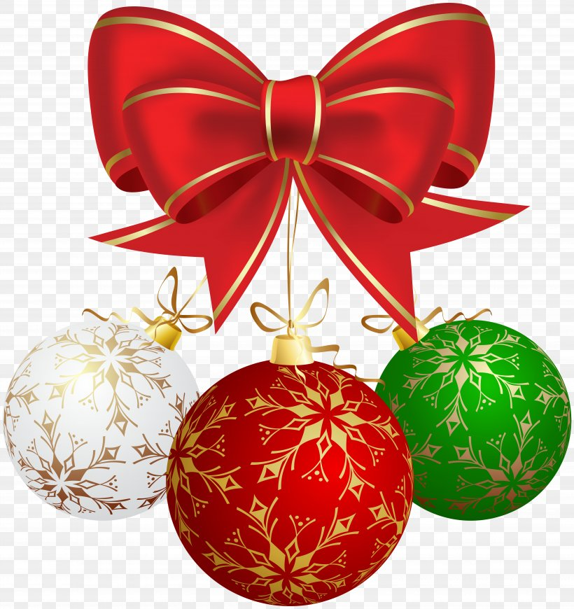 Christmas Ornament Clip Art, PNG, 7535x8000px, Christmas.