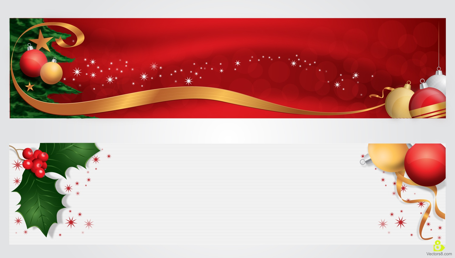 Free Christmas Banner Clipart 17.