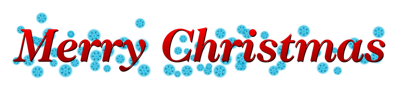 Merry Christmas Banner Clipart.